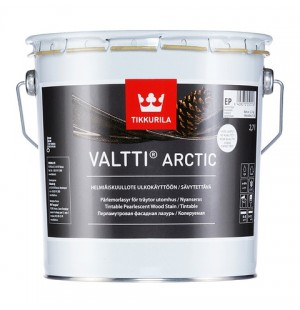 Лазурь фасадная перламутровая Валтти Арктик