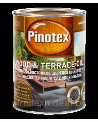 Масло для древесины Pinotex Wood&Terrace Oil