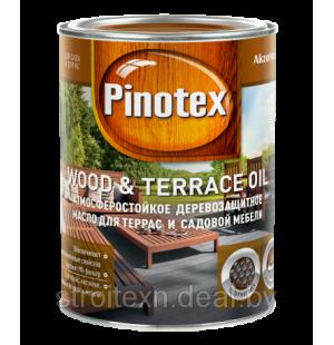 Масло для древесины Pinotex Wood&Terrace Oil 1л.