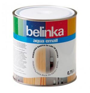 Эмаль универсальная для металла/древесины Belinka Aqua email 0,75л.