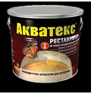 Кроющее защитное покрытие Акватекс-Реставратор 2.7л.