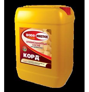 Огнебиозащитный пропиточный состав для древесины КОРД