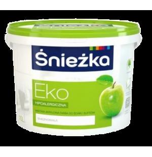 Краска акриловая для стен и потолков Sniezka Eko