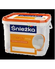 Краска латексная для стен и потолков Sniezka Energy (Польша)