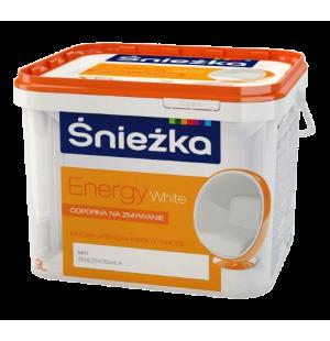 Краска латексная для стен и потолков Sniezka Energy