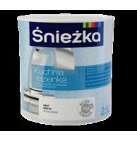 Краска латексная для стен и потолков Sniezka Kuchnia-Lazienka (Польша)