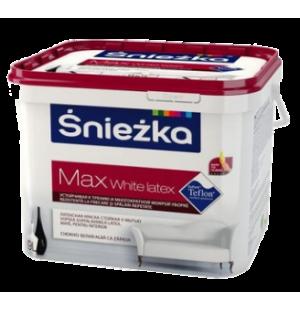 Краска латексная для стен и потолков Sniezka Max White Latex