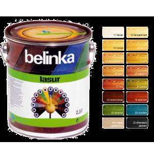 Декоративное лазурное покрытие Belinka Lasur