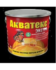 Пропитка для дерева с воском Акватекс Экстра